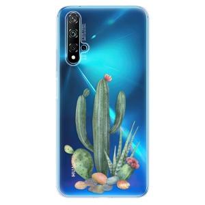 Odolné silikonové pouzdro iSaprio - Cacti 02 na mobil Huawei Nova 5T / Honor 20