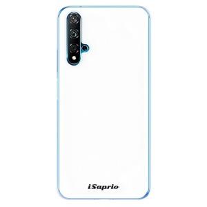 Odolné silikonové pouzdro iSaprio - 4Pure - bílé na mobil Huawei Nova 5T / Honor 20