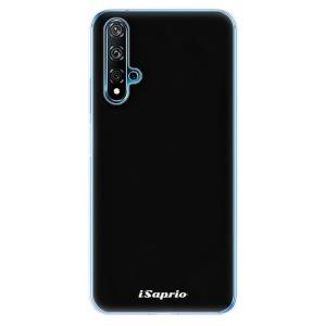 Odolné silikonové pouzdro iSaprio - 4Pure - černé na mobil Huawei Nova 5T / Honor 20