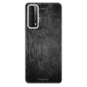 Odolné silikonové pouzdro iSaprio - Black Wood 13 na mobil Huawei P Smart 2021