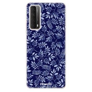 Odolné silikonové pouzdro iSaprio - Blue Leaves 05 na mobil Huawei P Smart 2021
