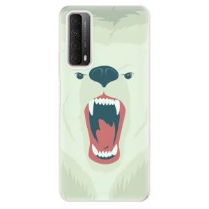 Odolné silikonové pouzdro iSaprio - Angry Bear na mobil Huawei P Smart 2021