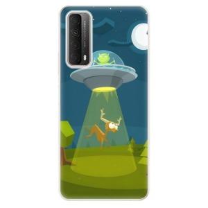 Odolné silikonové pouzdro iSaprio - Alien 01 na mobil Huawei P Smart 2021 - poslední kousek za tuto cenu