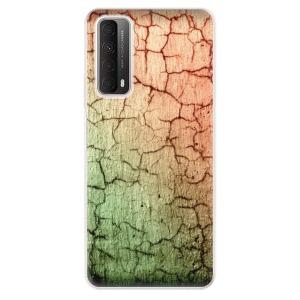 Odolné silikonové pouzdro iSaprio - Cracked Wall 01 na mobil Huawei P Smart 2021