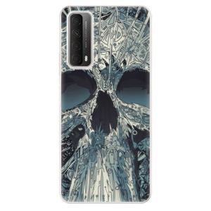 Odolné silikonové pouzdro iSaprio - Abstract Skull na mobil Huawei P Smart 2021