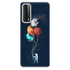 Odolné silikonové pouzdro iSaprio - Balloons 02 na mobil Huawei P Smart 2021