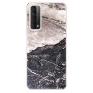 Odolné silikonové pouzdro iSaprio - BW Marble na mobil Huawei P Smart 2021