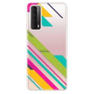 Odolné silikonové pouzdro iSaprio - Color Stripes 03 na mobil Huawei P Smart 2021