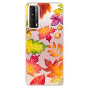Odolné silikonové pouzdro iSaprio - Autumn Leaves 01 na mobil Huawei P Smart 2021