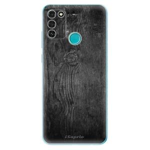 Odolné silikonové pouzdro iSaprio - Black Wood 13 na mobil Honor 9A