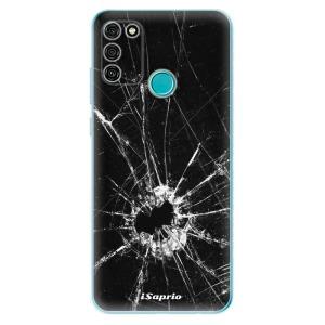Odolné silikonové pouzdro iSaprio - Broken Glass 10 na mobil Honor 9A