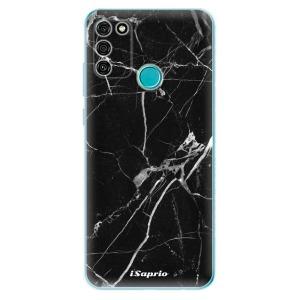 Odolné silikonové pouzdro iSaprio - Black Marble 18 na mobil Honor 9A