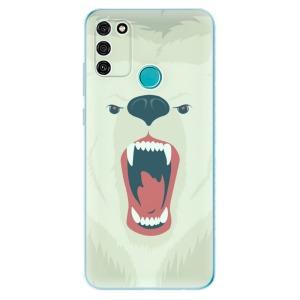 Odolné silikonové pouzdro iSaprio - Angry Bear na mobil Honor 9A