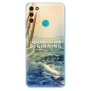 Odolné silikonové pouzdro iSaprio - Beginning na mobil Honor 9A