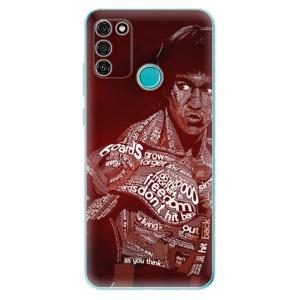 Odolné silikonové pouzdro iSaprio - Bruce Lee na mobil Honor 9A