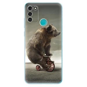 Odolné silikonové pouzdro iSaprio - Bear 01 na mobil Honor 9A