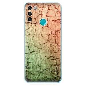 Odolné silikonové pouzdro iSaprio - Cracked Wall 01 na mobil Honor 9A