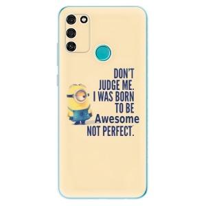 Odolné silikonové pouzdro iSaprio - Be Awesome na mobil Honor 9A