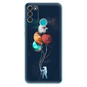 Odolné silikonové pouzdro iSaprio - Balloons 02 na mobil Honor 9A