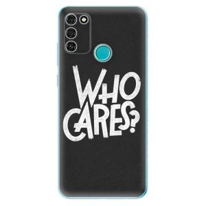 Odolné silikonové pouzdro iSaprio - Who Cares na mobil Honor 9A