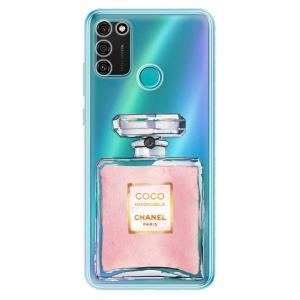 Odolné silikonové pouzdro iSaprio - Chanel Rose na mobil Honor 9A