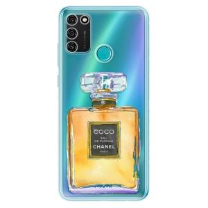 Odolné silikonové pouzdro iSaprio - Chanel Gold na mobil Honor 9A