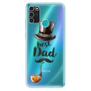 Odolné silikonové pouzdro iSaprio - Best Dad na mobil Honor 9A