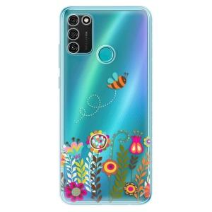 Odolné silikonové pouzdro iSaprio - Bee 01 na mobil Honor 9A