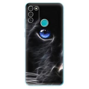 Odolné silikonové pouzdro iSaprio - Black Puma na mobil Honor 9A