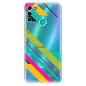 Odolné silikonové pouzdro iSaprio - Color Stripes 03 na mobil Honor 9A