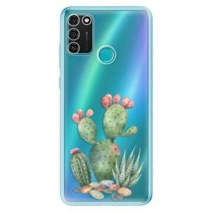 Odolné silikonové pouzdro iSaprio - Cacti 01 na mobil Honor 9A