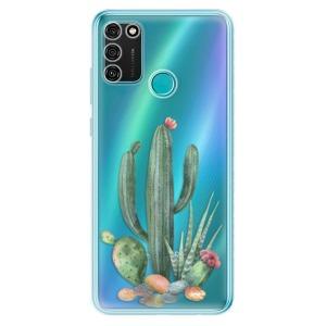Odolné silikonové pouzdro iSaprio - Cacti 02 na mobil Honor 9A