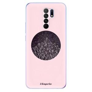 Odolné silikonové pouzdro iSaprio - Digital Mountains 10 na mobil Xiaomi Redmi 9 - poslední kousek za tuto cenu