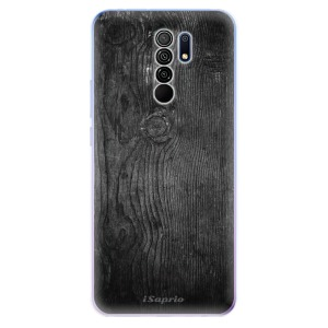 Odolné silikonové pouzdro iSaprio - Black Wood 13 na mobil Xiaomi Redmi 9