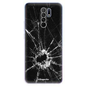 Odolné silikonové pouzdro iSaprio - Broken Glass 10 na mobil Xiaomi Redmi 9