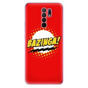 Odolné silikonové pouzdro iSaprio - Bazinga 01 na mobil Xiaomi Redmi 9