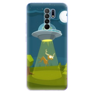 Odolné silikonové pouzdro iSaprio - Alien 01 na mobil Xiaomi Redmi 9