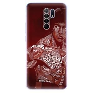 Odolné silikonové pouzdro iSaprio - Bruce Lee na mobil Xiaomi Redmi 9