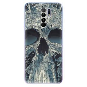 Odolné silikonové pouzdro iSaprio - Abstract Skull na mobil Xiaomi Redmi 9
