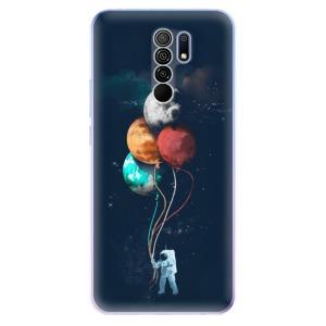 Odolné silikonové pouzdro iSaprio - Balloons 02 na mobil Xiaomi Redmi 9