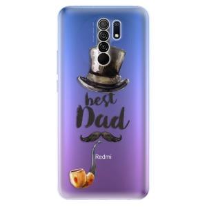 Odolné silikonové pouzdro iSaprio - Best Dad na mobil Xiaomi Redmi 9