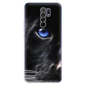 Odolné silikonové pouzdro iSaprio - Black Puma na mobil Xiaomi Redmi 9