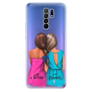 Odolné silikonové pouzdro iSaprio - Best Friends na mobil Xiaomi Redmi 9