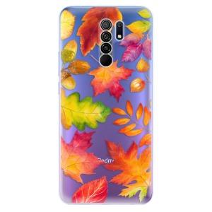 Odolné silikonové pouzdro iSaprio - Autumn Leaves 01 na mobil Xiaomi Redmi 9