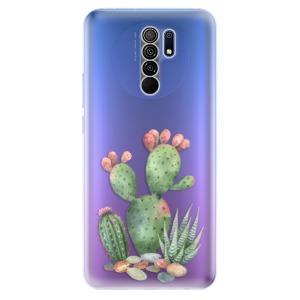 Odolné silikonové pouzdro iSaprio - Cacti 01 na mobil Xiaomi Redmi 9