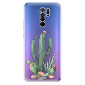 Odolné silikonové pouzdro iSaprio - Cacti 02 na mobil Xiaomi Redmi 9