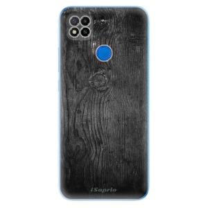 Odolné silikonové pouzdro iSaprio - Black Wood 13 na mobil Xiaomi Redmi 9C