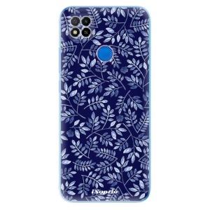 Odolné silikonové pouzdro iSaprio - Blue Leaves 05 na mobil Xiaomi Redmi 9C
