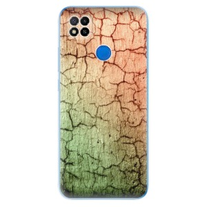 Odolné silikonové pouzdro iSaprio - Cracked Wall 01 na mobil Xiaomi Redmi 9C