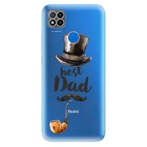 Odolné silikonové pouzdro iSaprio - Best Dad na mobil Xiaomi Redmi 9C